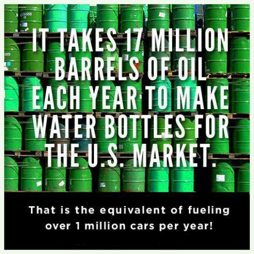 oil to water