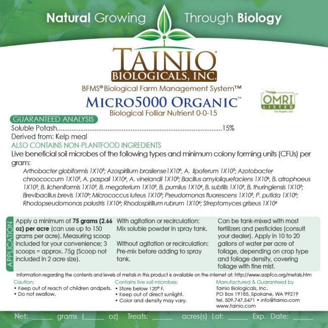 Micro-5000-Organic