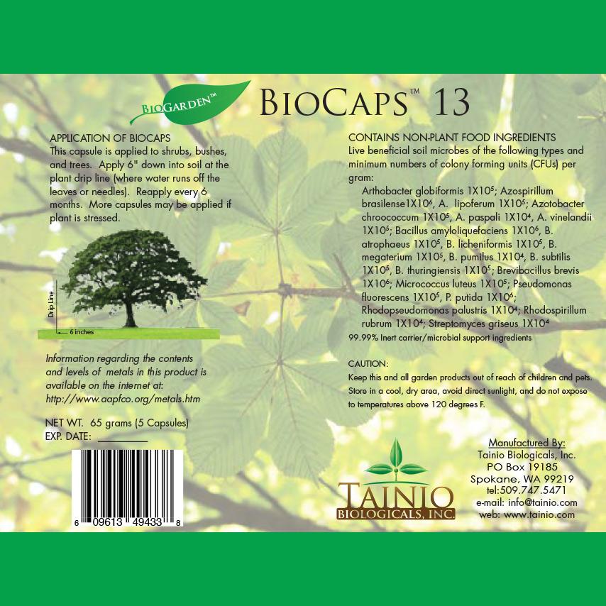 BioCaps 13 gram by Tainio Biologicals Inc.