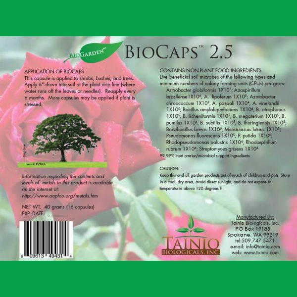 BioCaps 2.5 gram by Tainio Biologicals Inc.