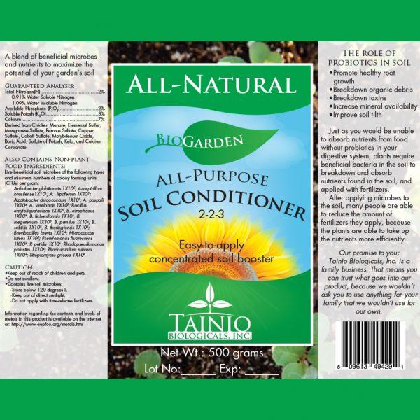 BioGarden All-Purpose Soil Conditioner by Tainio Biologicals Inc