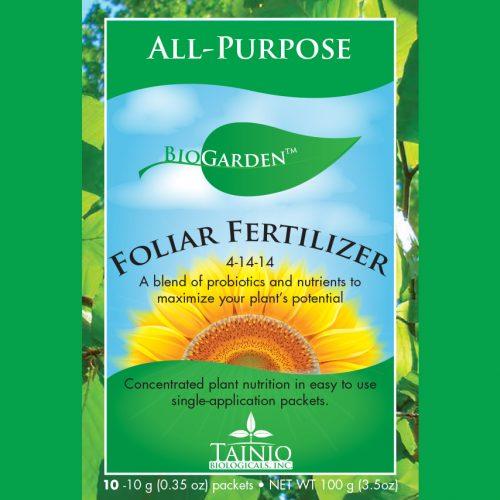 BioGarden Foliar Fertilizer 4-14-14