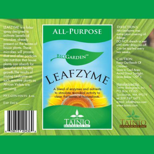 BioGarden Leafzyme Enzyme-Nutrient Spray by Tainio Biologicals Inc.
